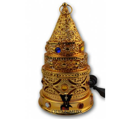 Electric censer pyramid - various colors