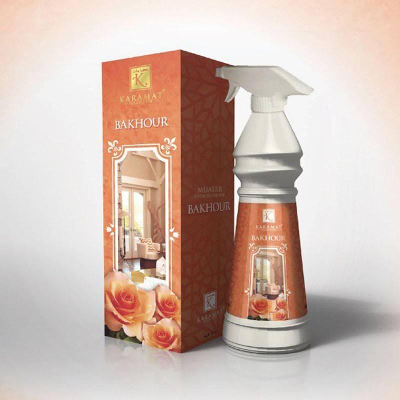 parfum de maison bakhour karamat room freshener. Black Bedroom Furniture Sets. Home Design Ideas