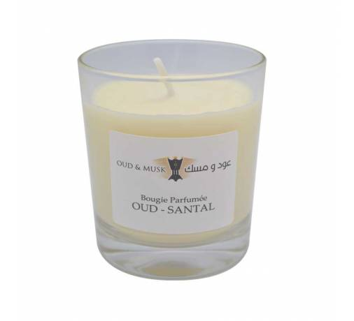 Scented Candle Oud Sandal
